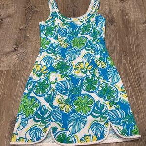 Lilly Pulitzer XXS Sundress Dress Floral